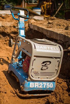 Compactor-in-Dirt