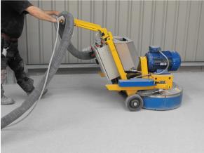 DFG700 Grinding concrete floor dry