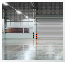 iShine Floor System - Polished concrete floor warehouse