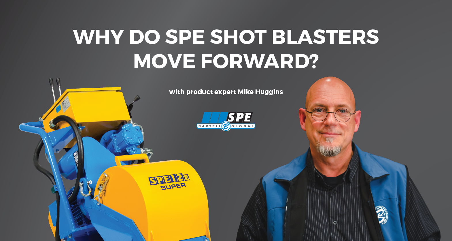 Why Do Spe Shotblasters Move Forward Video